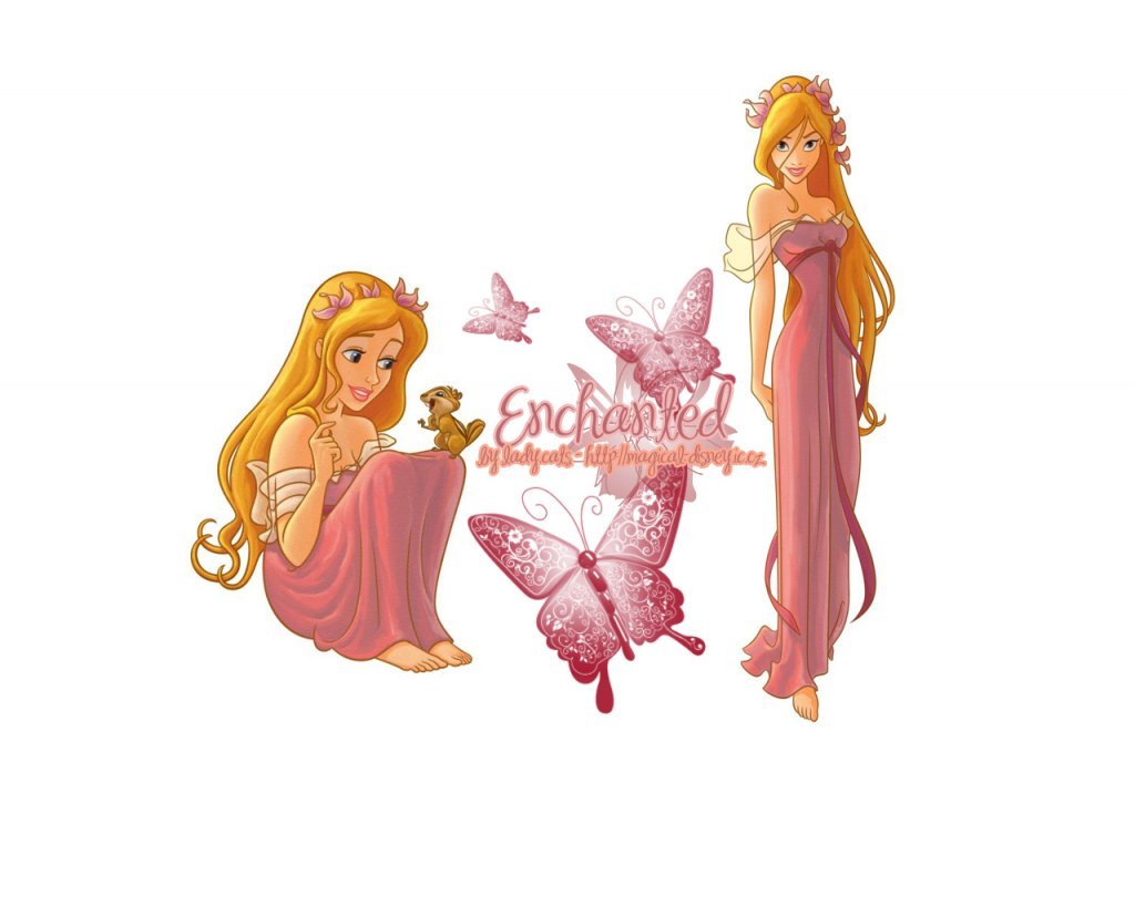 Disney wallpaper Enchanted-1280 1024